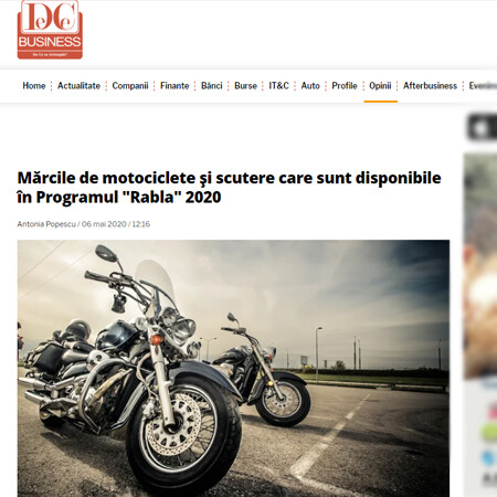 6. DC Business rabla moto