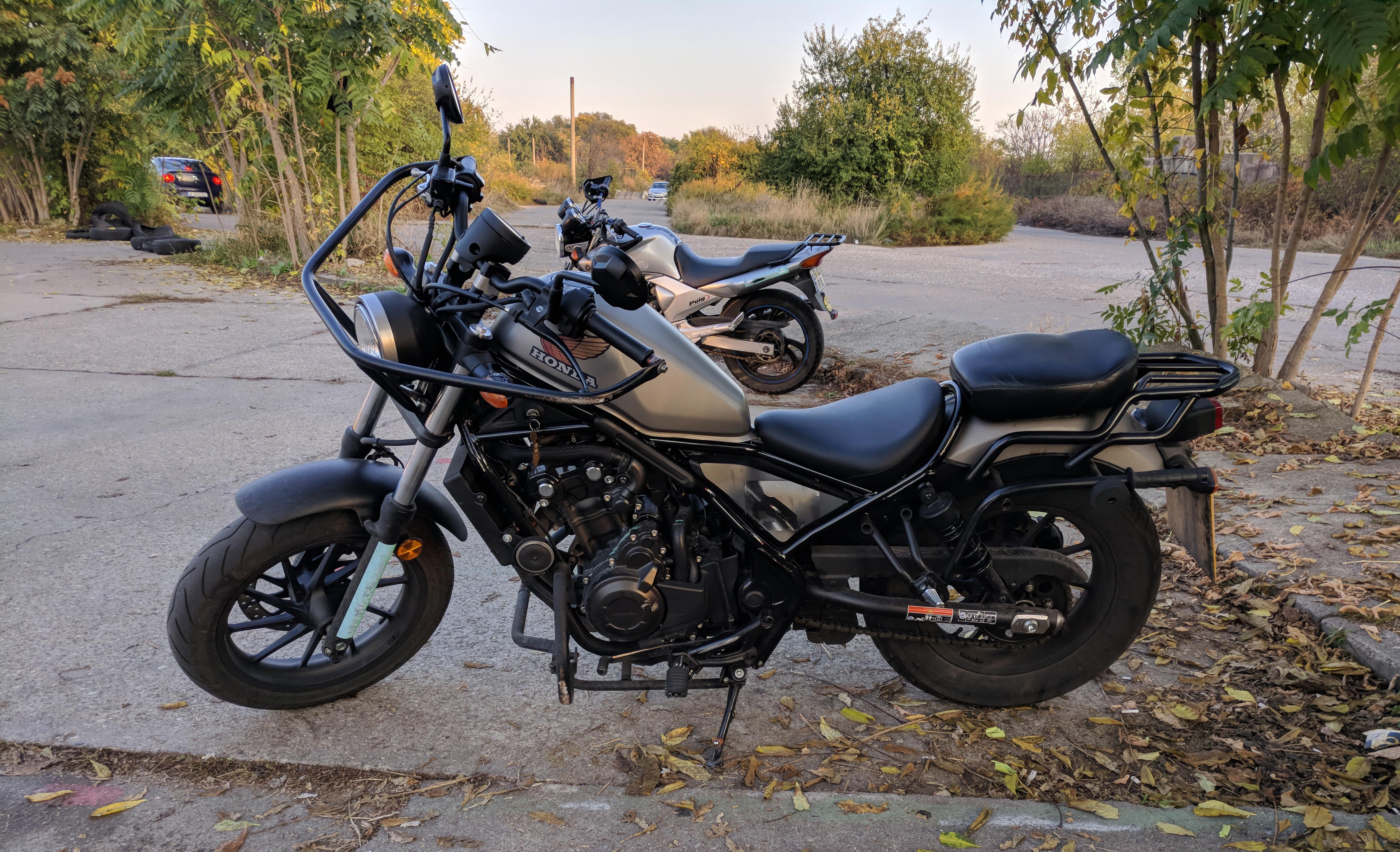 honda rebel motocicleta