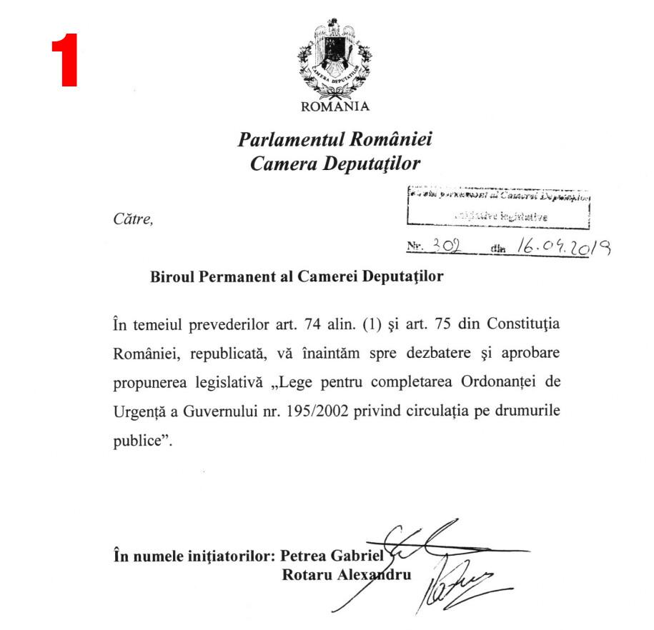 1. 16.04.2019 Propunere catre camera deputatilor