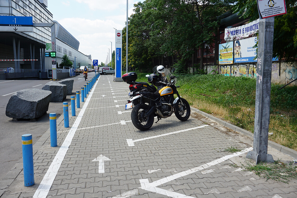 Parcare motociclete afi cotroceni