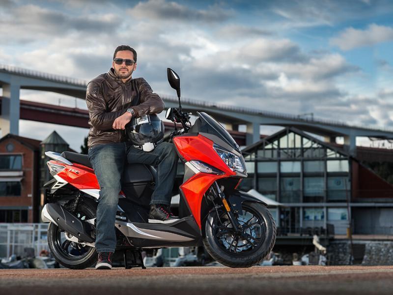 Imagine reprezentativa Noutățile sezonului moto 2021 la SYM România